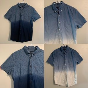 2 PACK AMERICAN EAGLE Men's button up shirt